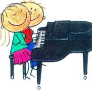 Piano clipart piano duet. Summer camp registration is