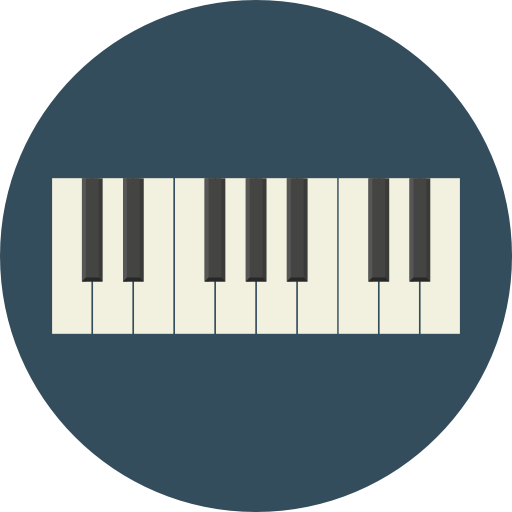 Piano icon png. Page svg