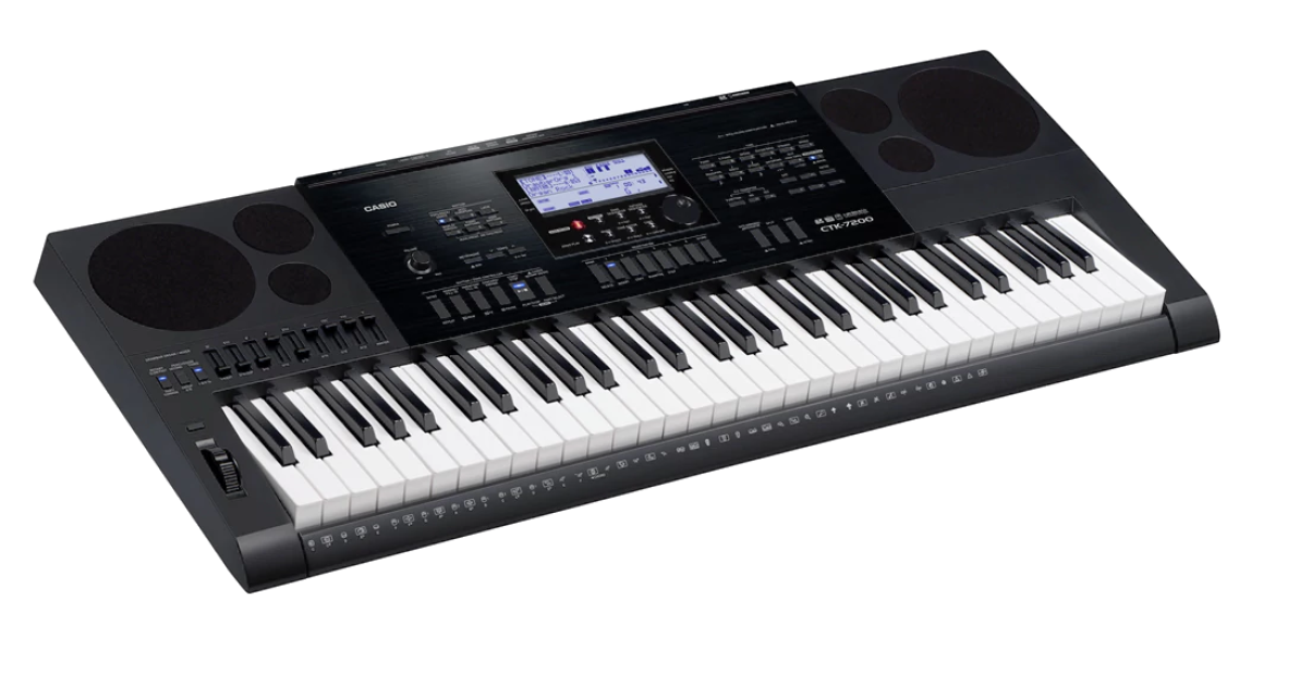 Piano keyboard png. Casio ctk