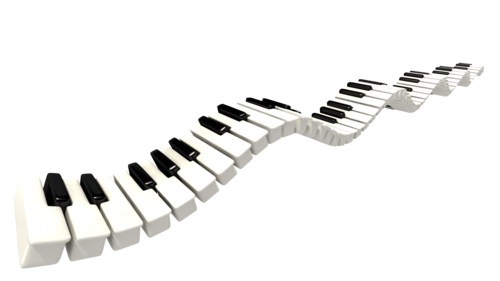 Piano keyboard png. Keys clip art mart