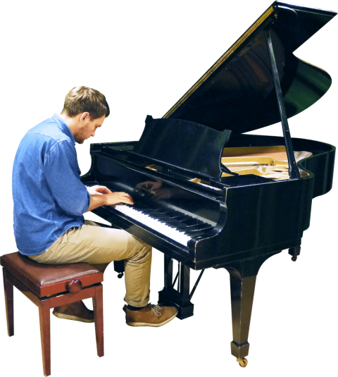 Piano player png. Playing grand free images