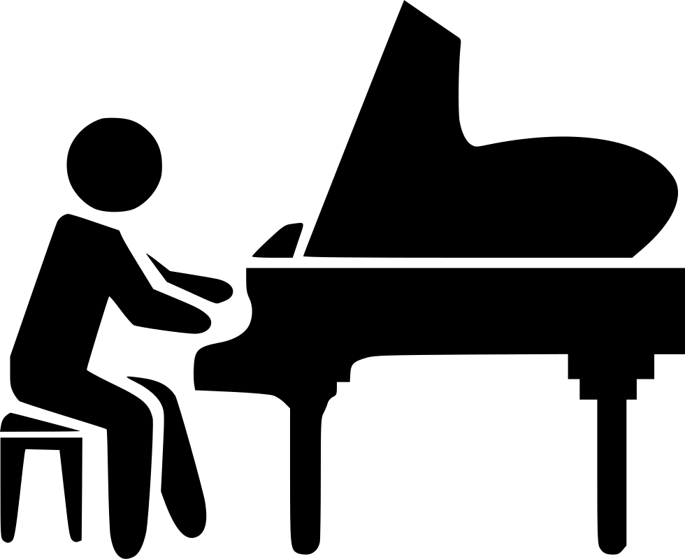Piano svg black and white. Png icon free download