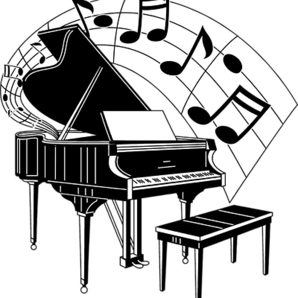 Piano svg black and white. Christmas clipart library techflourish