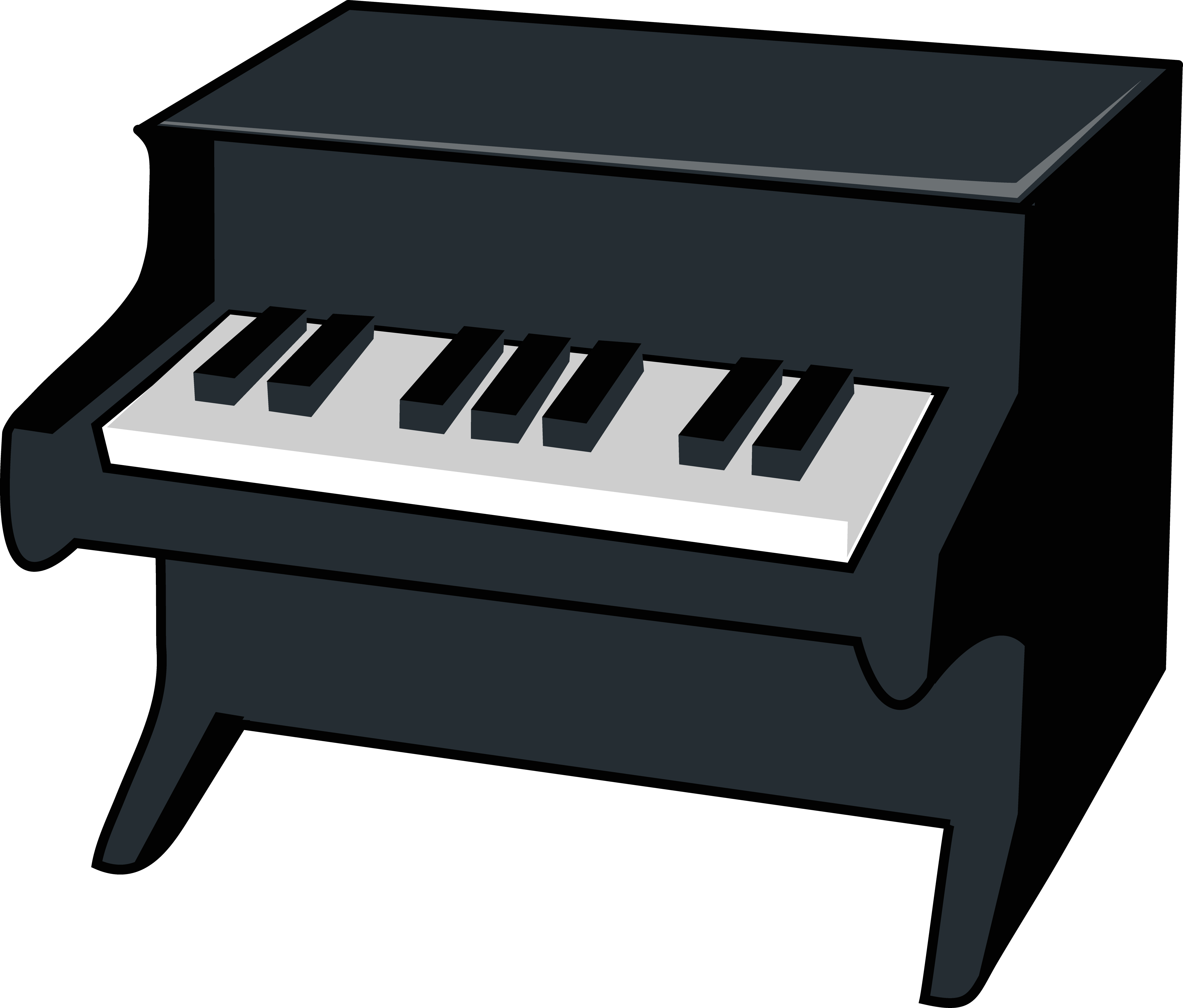Free cartoon keys download. Piano clipart graphic stock