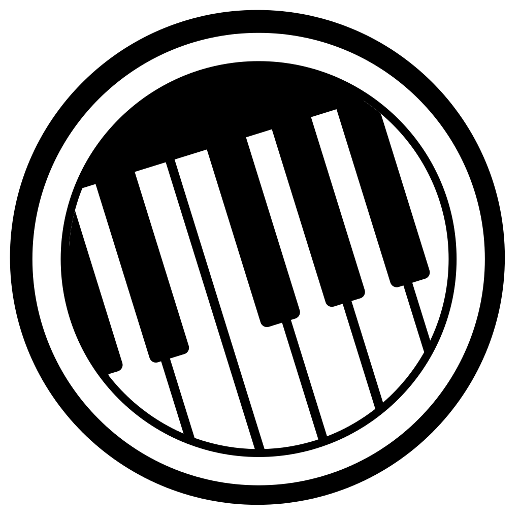 Piano svg icon. File rb keyboard wikipedia