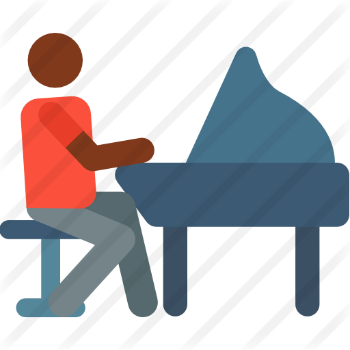 Piano svg jazz. Free music icons icon