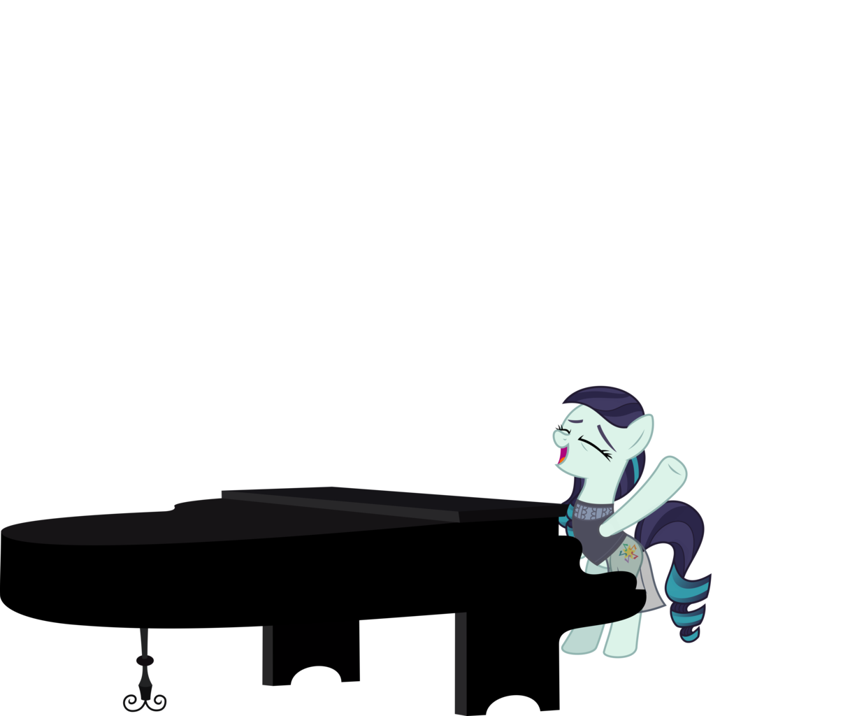 Piano svg simple. Absurd res artist