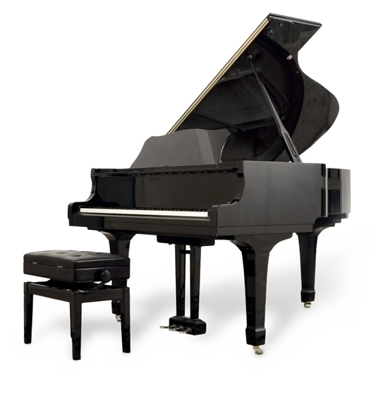 Transparent pianos. Piano png images free