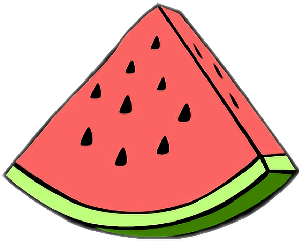 Tumblr sticker by co. PICART SANDIA WATERMELON clip royalty free library
