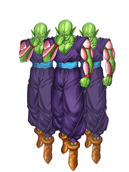 Piccolo special beam cannon png. Image clone army render