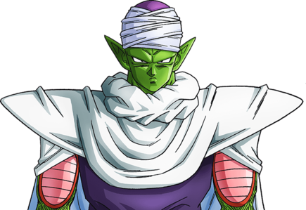 Piccolo face png. Dragon ball super ot
