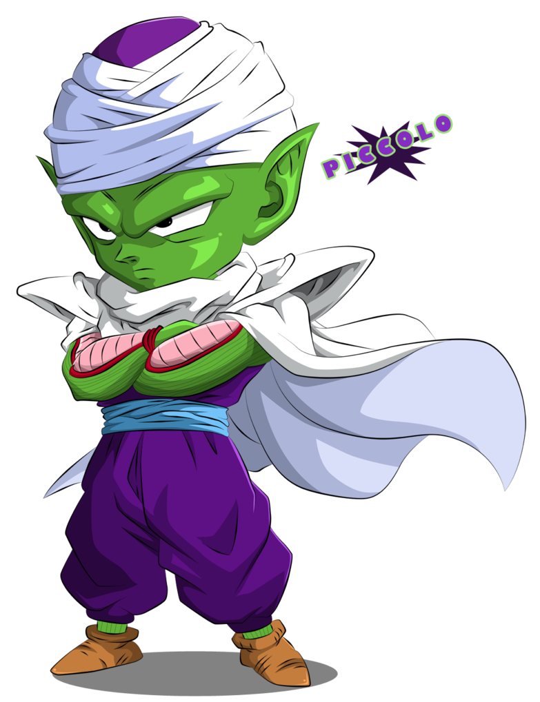 Piccolo face png. Chibi by queen vegeta