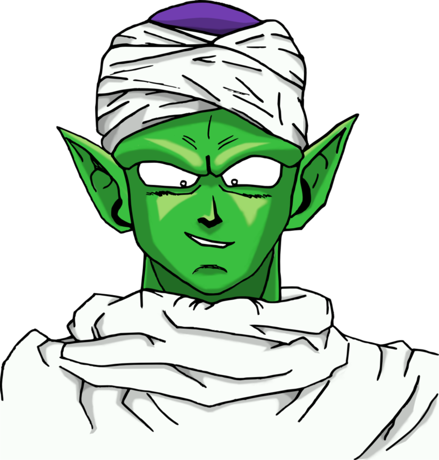 Piccolo face png. Majunior by floreindein on