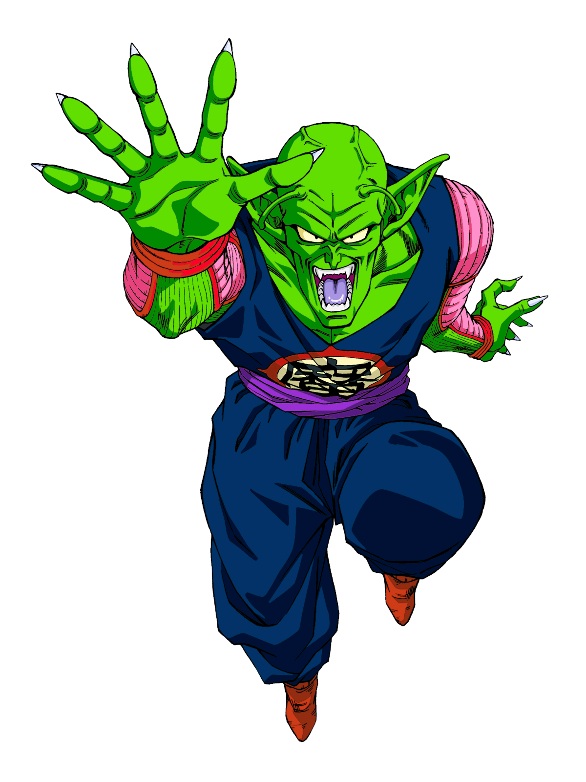 Piccolo face png. King team four star