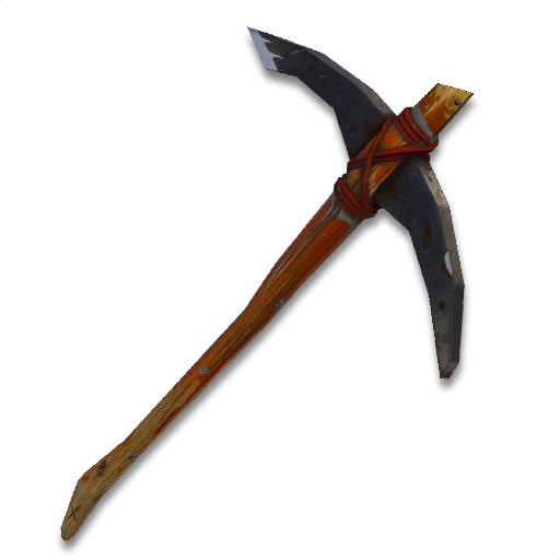 pickaxe transparent battle royale