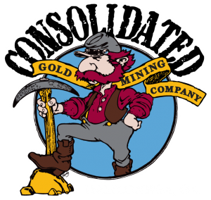 Pick clipart gold mining. Consolidated mine find and