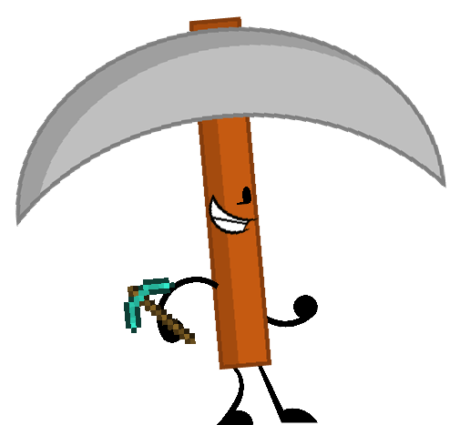 Pickaxe transparent battle royale. Image new pose png