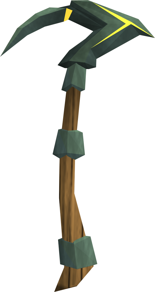 Pickaxe transparent crystal. Gilded adamant runescape wiki