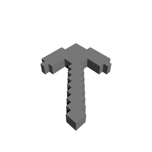Pickaxe transparent printable. D minecraft by