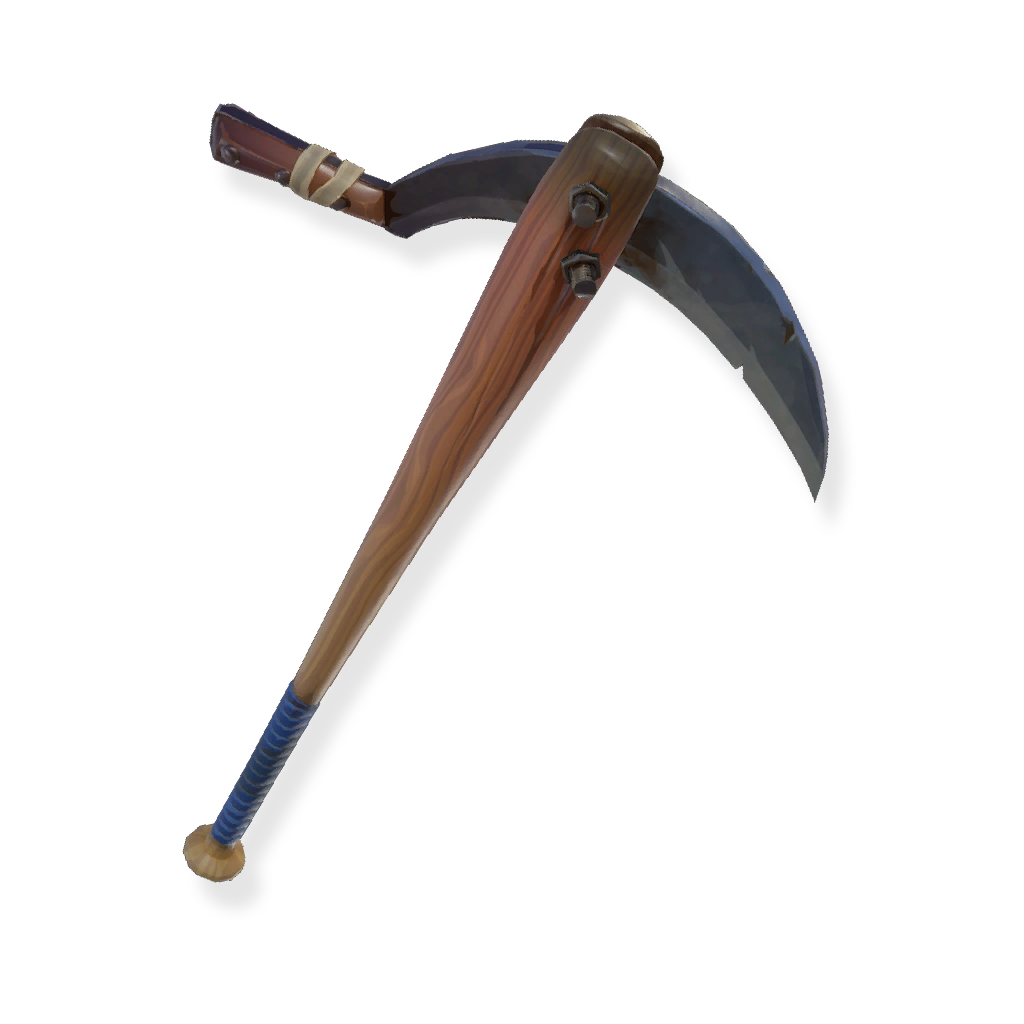 Pickaxe transparent battle royale. Rare batsickle fortnite cosmetic