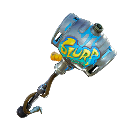 Pickaxe transparent ski boot. Fortnite pickaxes party animal