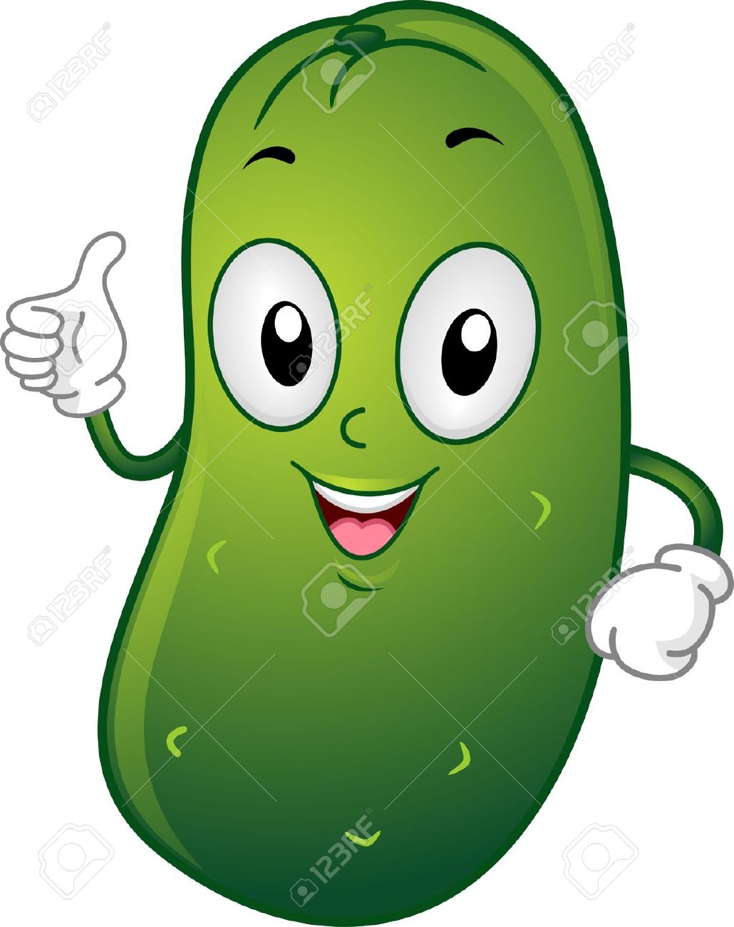 Pickle clipart. Funny