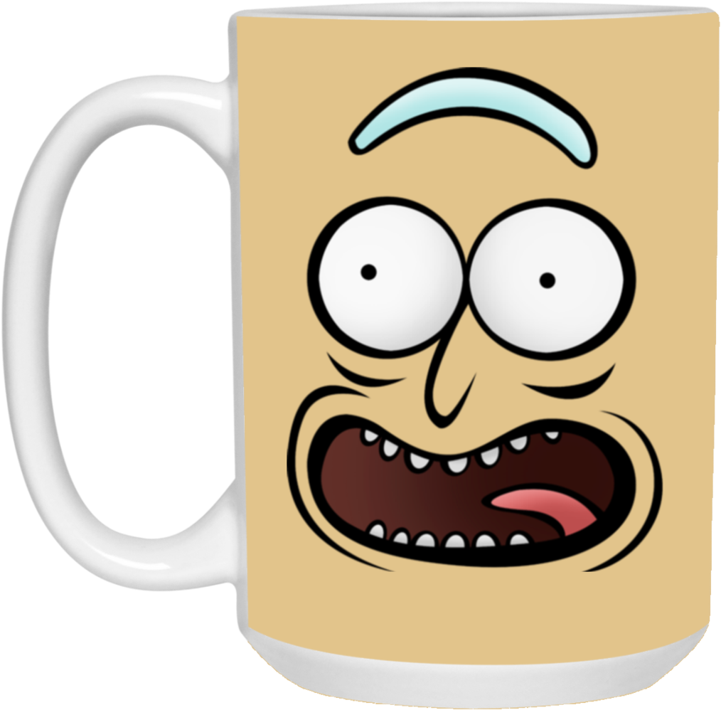 Pickle rick face png. Download rickz pickles funny