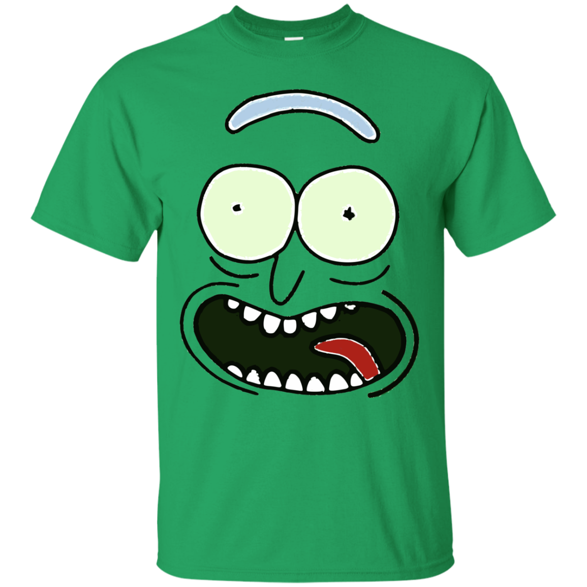 Pickle rick face png. Shirt and morty icestork