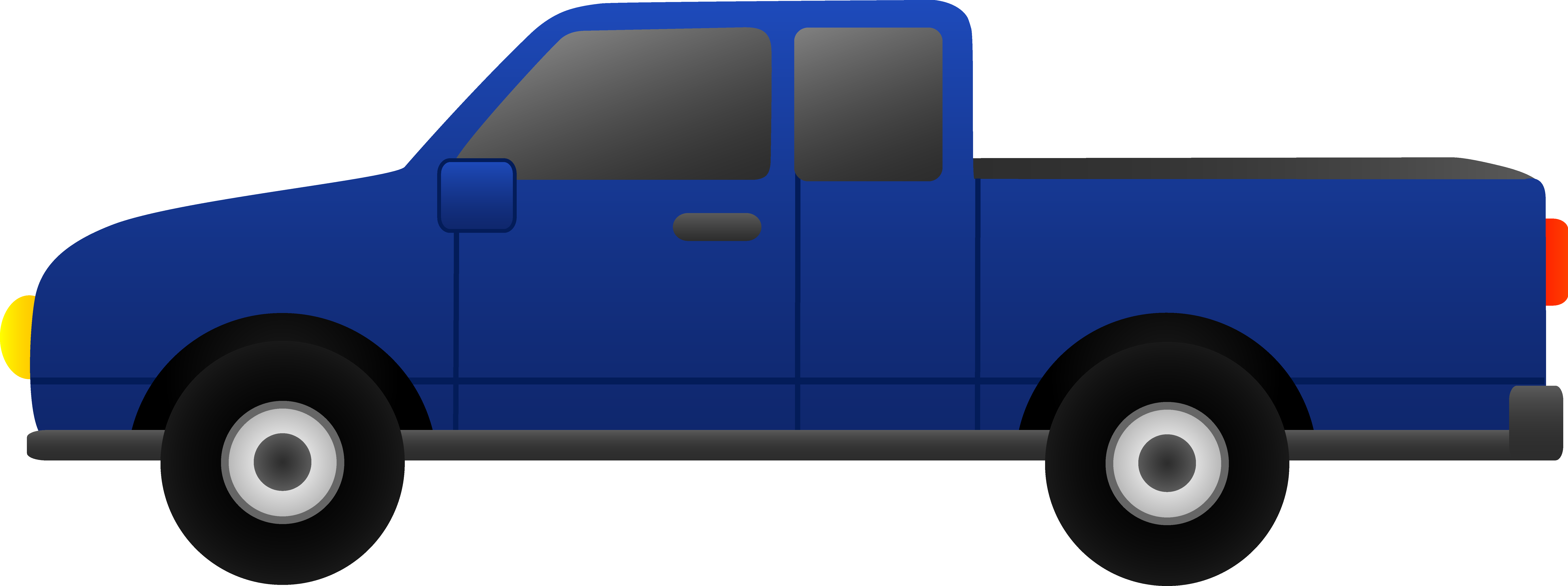 Pickup clipart. Toyota truck