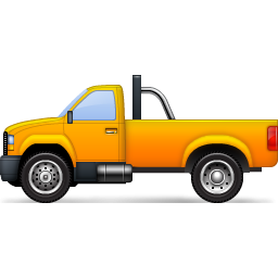 Pickup clipart yellow truck. Png