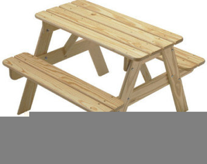 Free images at clker. Picnic clipart picnic table image black and white