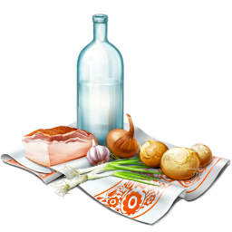 Picnic food png. Icon