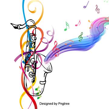 Music background png. Notes vectors psd and