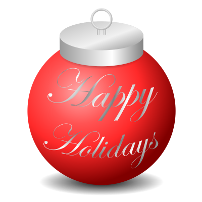 Happy holidays transparent png. Download free image and
