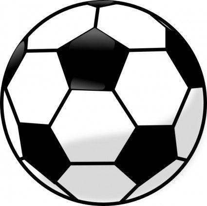 Picture clipart ball. Soccer panda free images