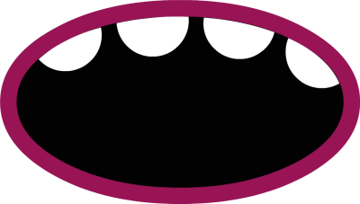 Spooky clipart mouth. Free cliparts download clip