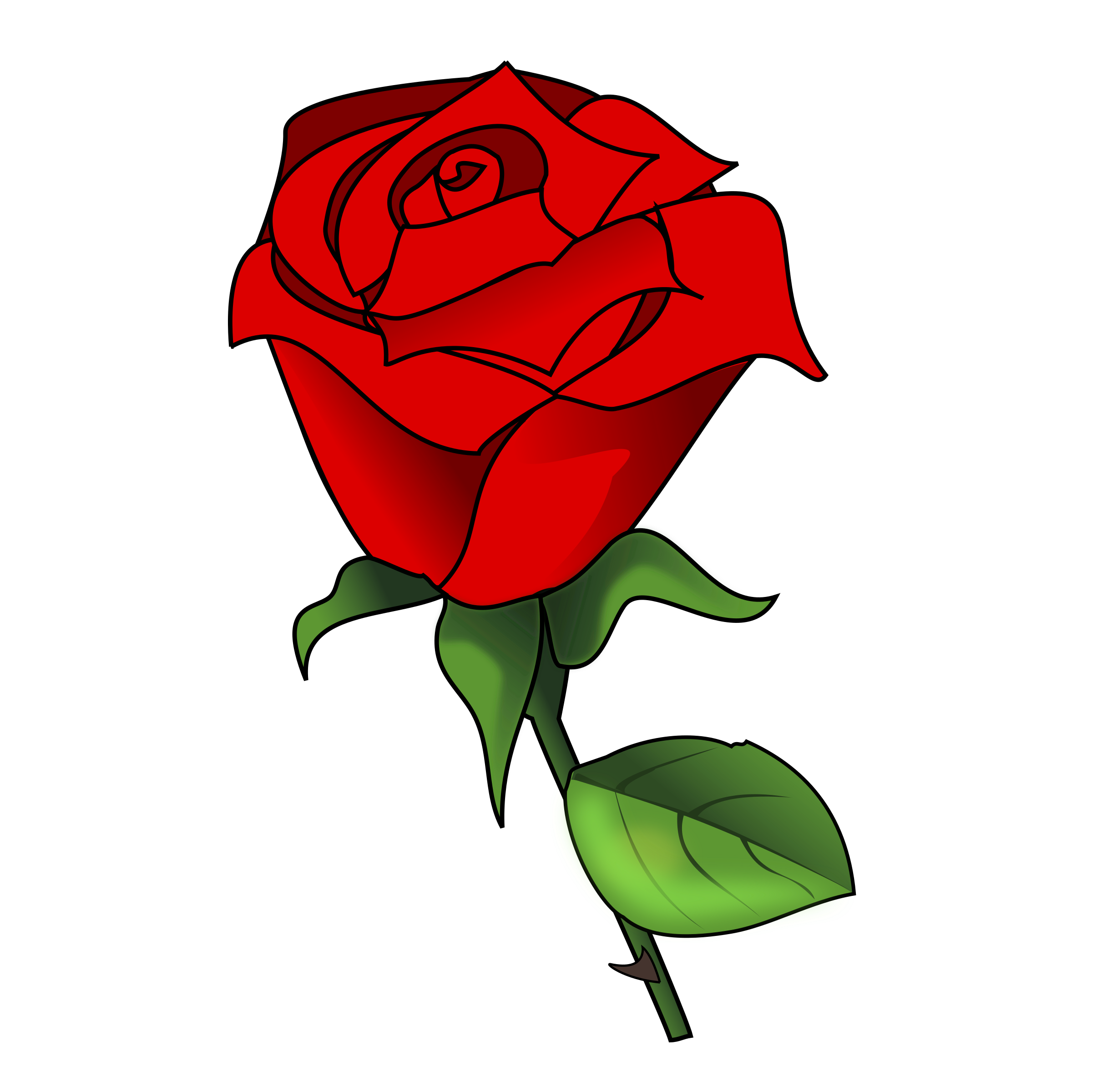 Picture clipart rose. Flower at getdrawings com