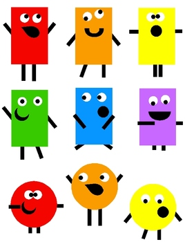 Monsters clip art png. Shape clipart svg transparent