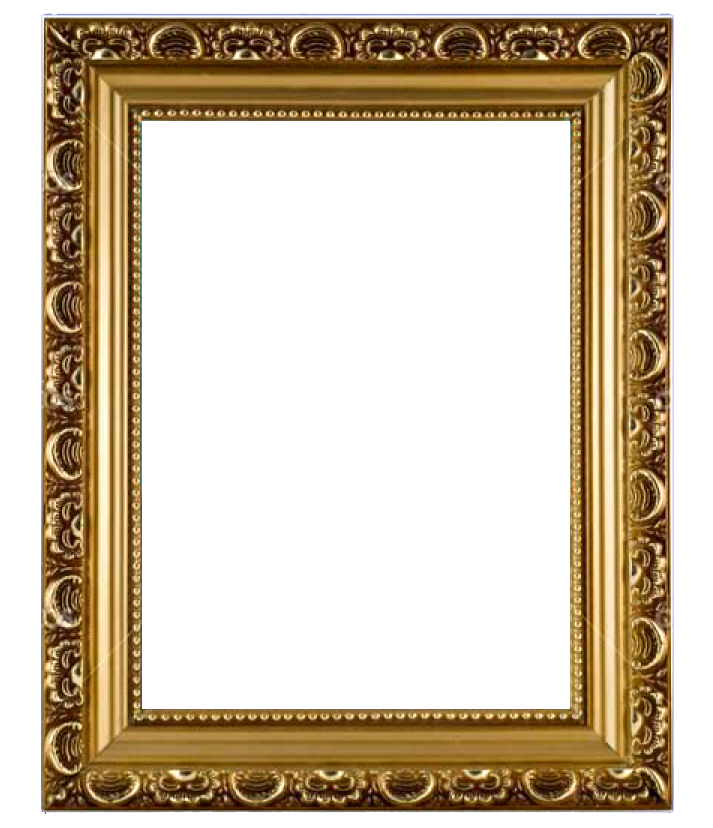 Picture frame png. Flower psd vector free