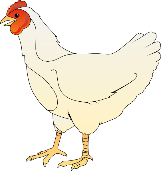 Chickens clipart veggy. Chicken clip art vector