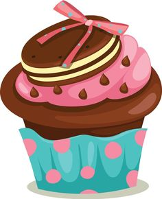 Pictures clipart cupcake. Free clip art delightful