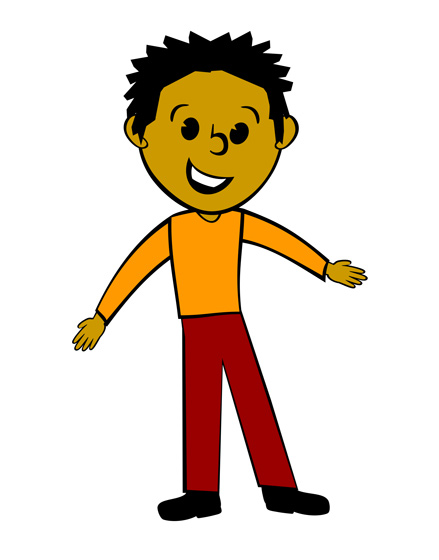 Pictures clipart person. Young man