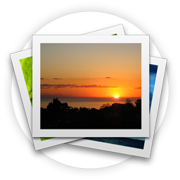 Photo gallery png. Photos icon palm iconset