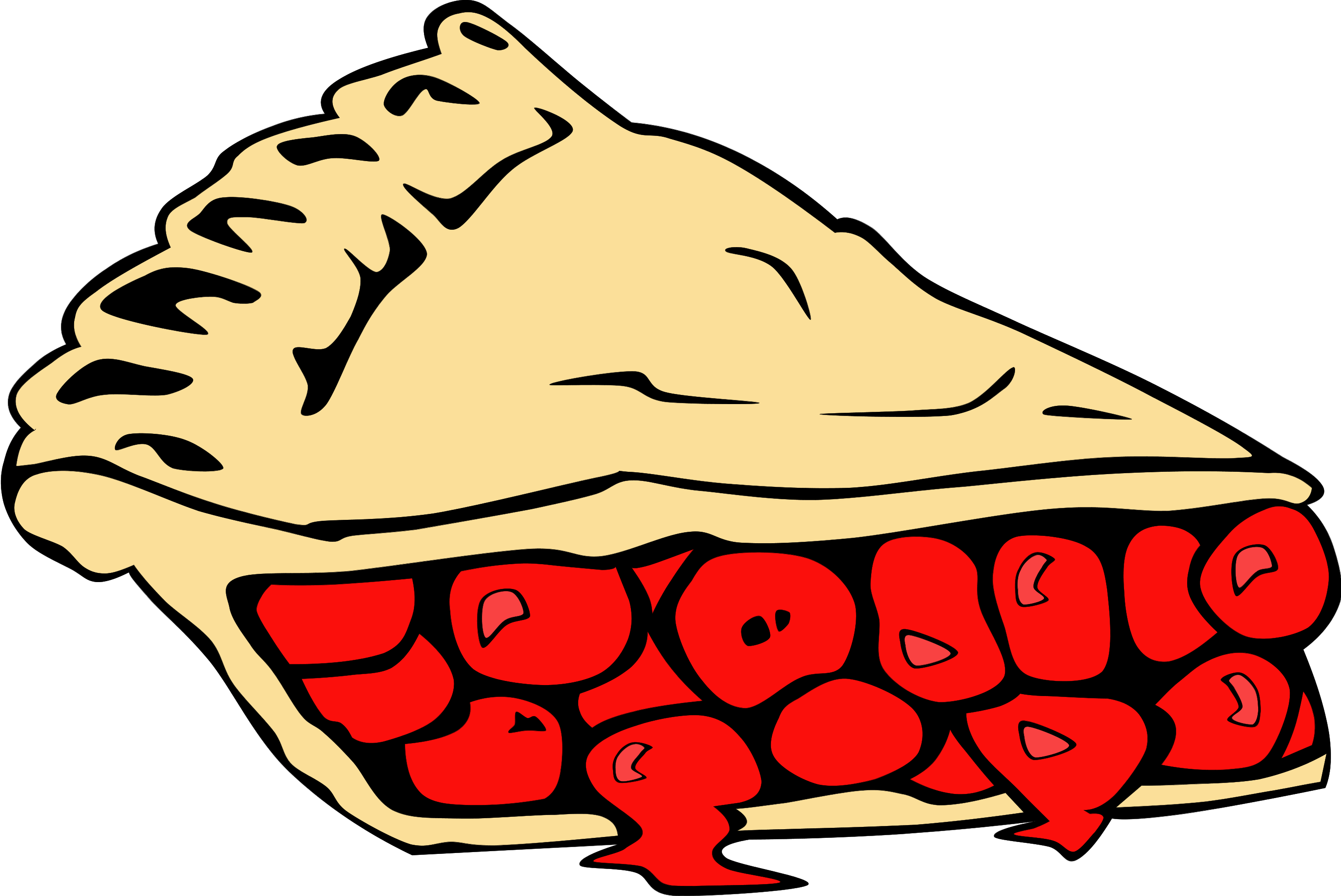 Pie clipart. Got