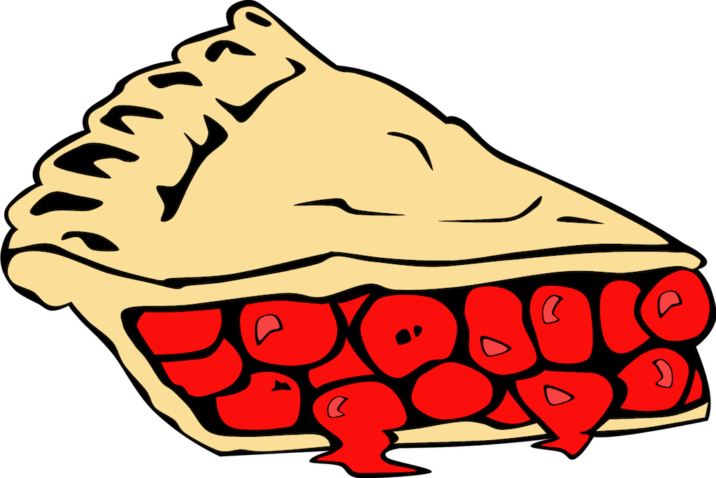 Pie clipart cherry pie. Free pictures of download
