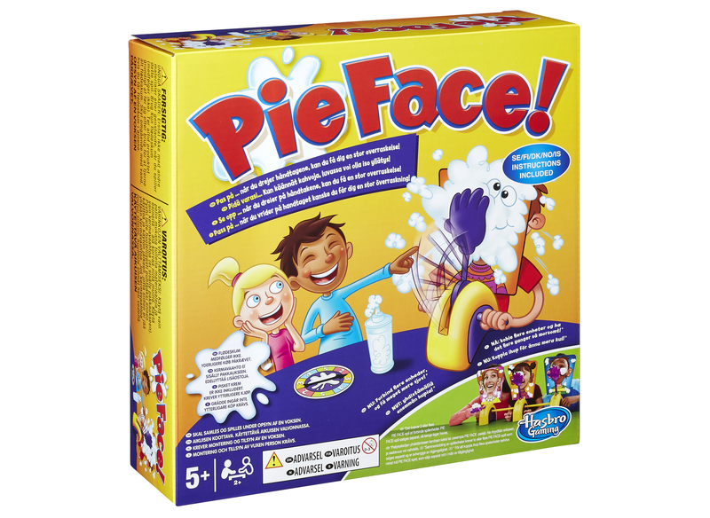 Pie face png. Chain reaction