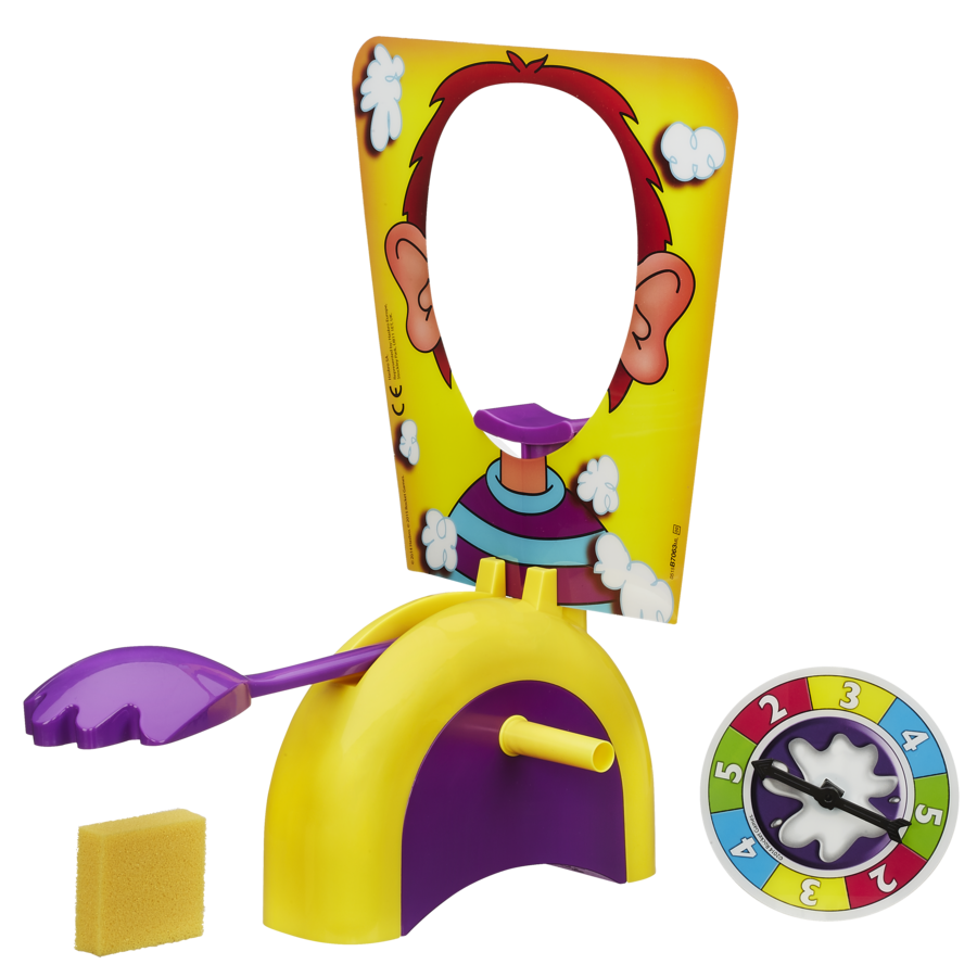 Pie in face png. Game toyworld