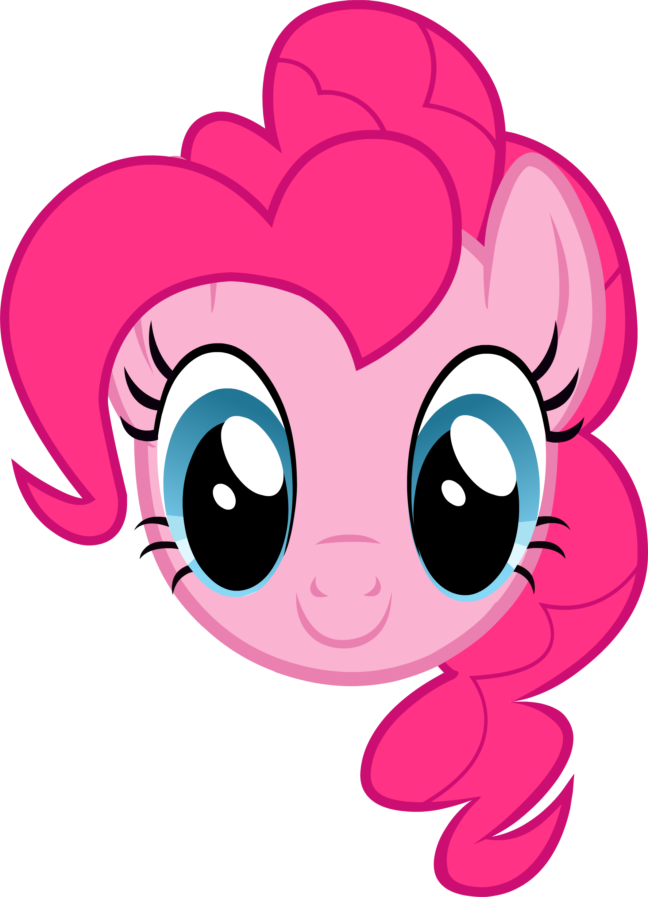 Pie throwing png. Mlp pinkie headshot headshots