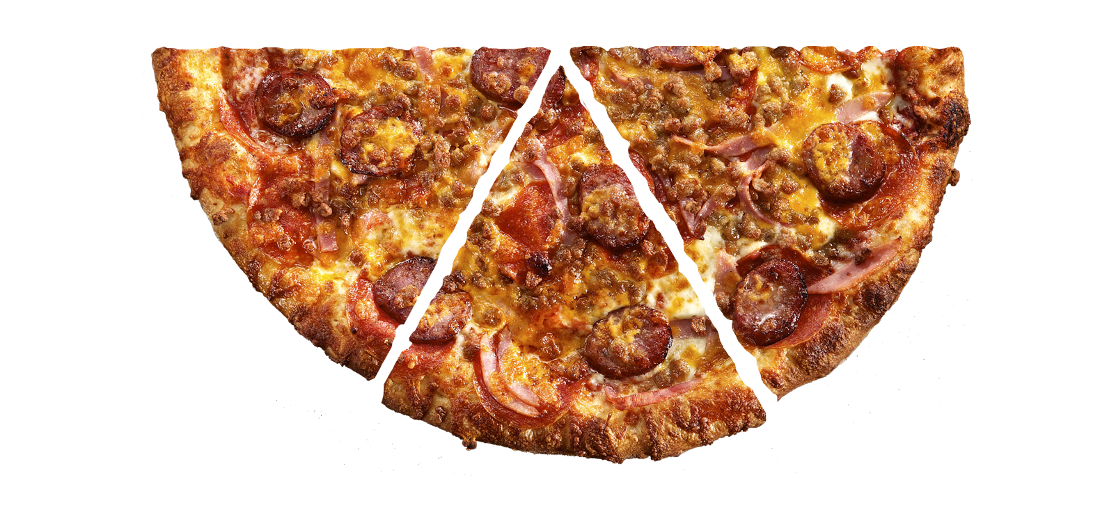 Pie top down png. Seriously great pizza big