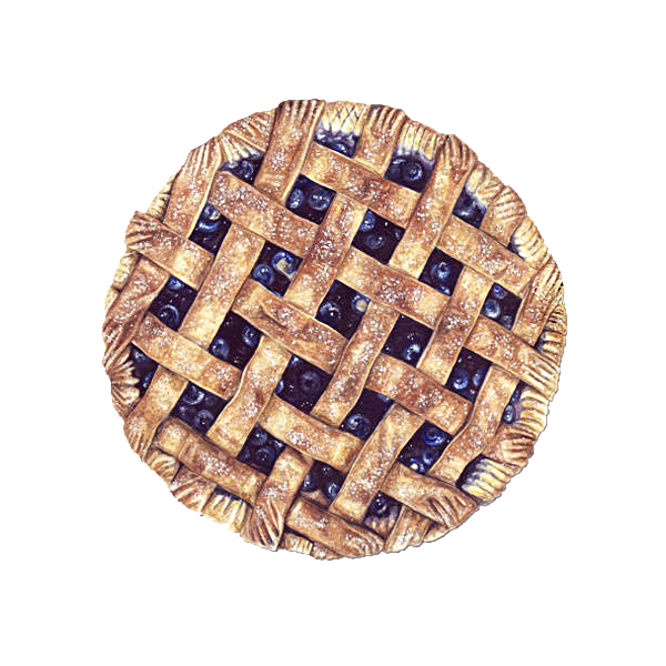 pie watercolor png